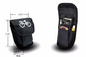 kit de herramientas para reparación de bicicletas multiuso