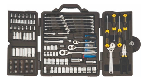 kit de herramientas tubos stanley 176 pzs stmy7429 estuche