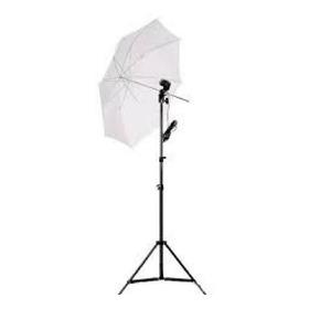 Kit De Iluminação Soquete E27 Simples + Tripe 2m + Sombrinha