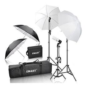 Kit De Iluminación Continua Emart Fotografía Y Video 600 W