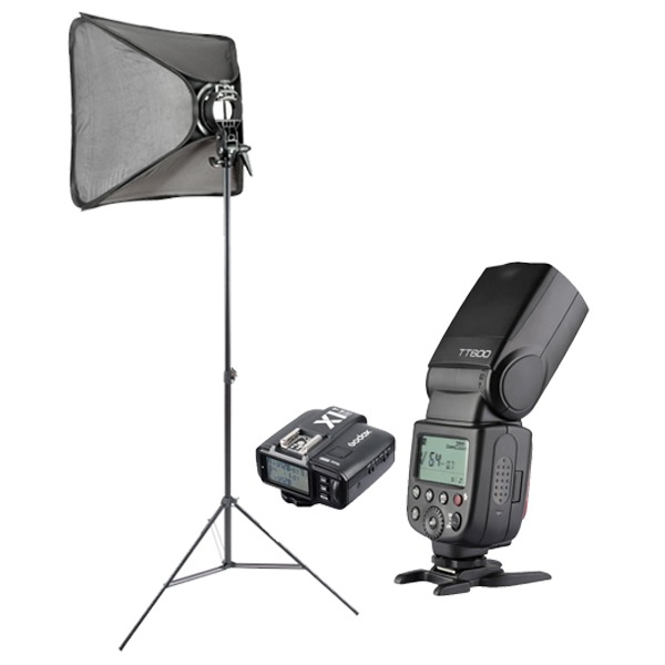 a61992178036e Kit De Iluminación Fotografía Flash Tt600 60x60cm Para Nikon ...
