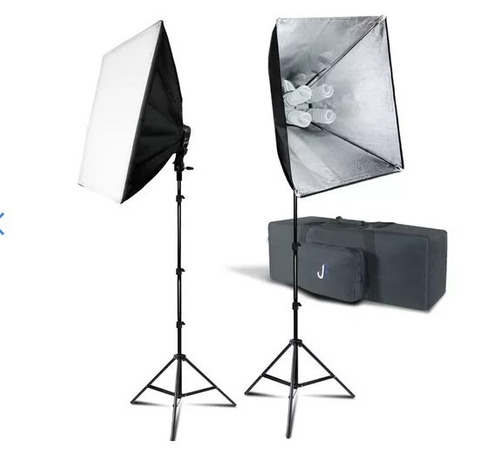 kit de iluminación fotografía o vídeo