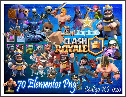 kit de imagenes digitales + fondos clash royale ki-020