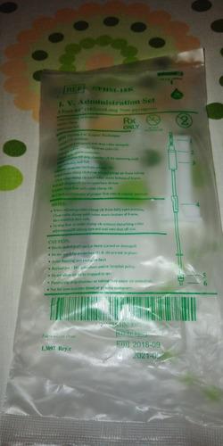 kit de infusión macro gotero