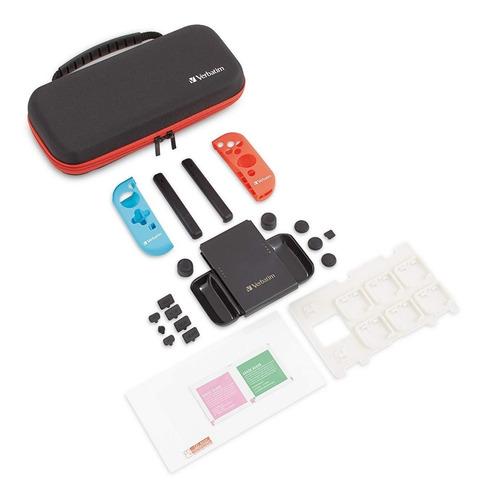 kit de inicio  para nintendo switch 99801 verbatim