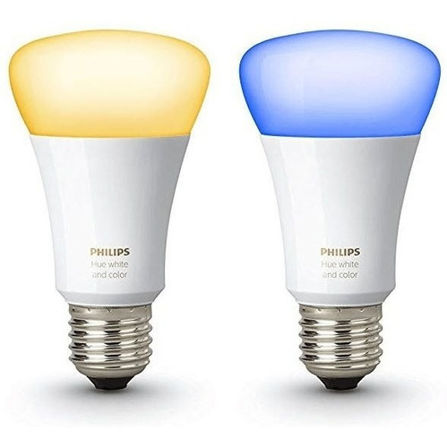 kit de inicio philips hue white and color ambiance +2 switch