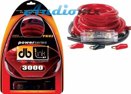 kit de instalación calibre 0 + 2000w db link pk0z