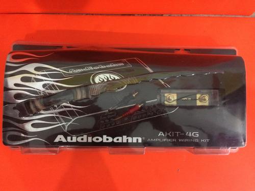 kit de instalación calibre 4 marca audiobahn akit-4g
