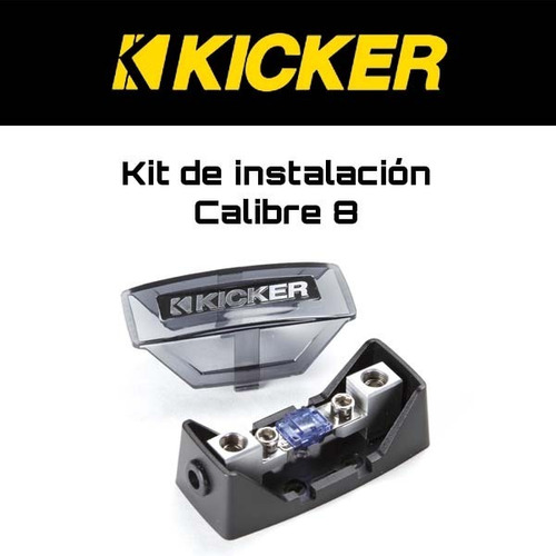 kit de instalación calibre 8 kicker pk8 500w amplificador