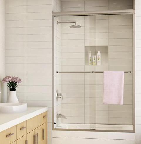 kit de instalacion de puertas de vidrio templado para ducha