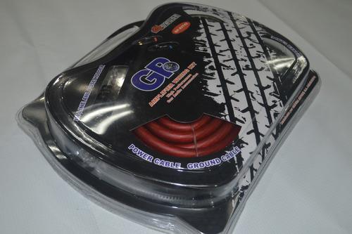 kit de instalacion gp cable 4 para sonido / gama alta / 2rca