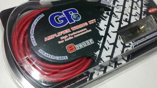 kit de instalacion gp cable 8 para sonido / gama alta