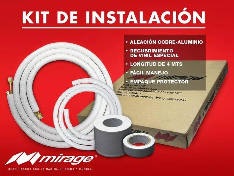 Kit De Instalacion Mirage1 4 X 1 2 Minisplit 1 Y 1 5 Ton