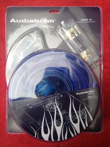 kit de instalación para amplificador de auto calibre 4