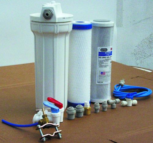 kit de instalación para dispenser de agua conexión a red