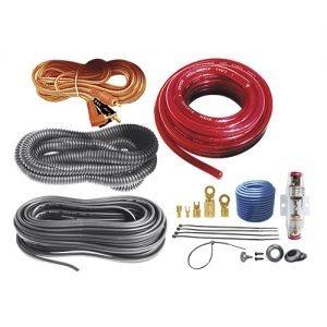 kit de instalación profesional para audio 10awg automotriz.