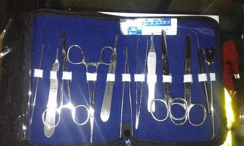 kit de instrumentos médicos marca medic life.