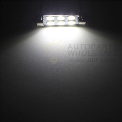 kit de interior led luces paquete blanco 15pcs para 2004-200