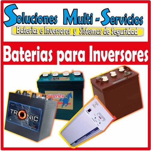 kit de inversores 1.2 kw + 2 baterias (todo incluido)