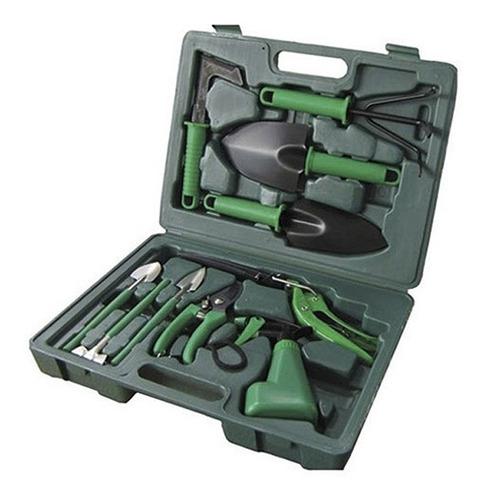 kit de jardinagem com 10 peças + maleta