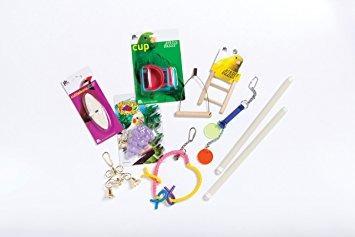 kit de jaula de aves con techo prevue pet products 91102