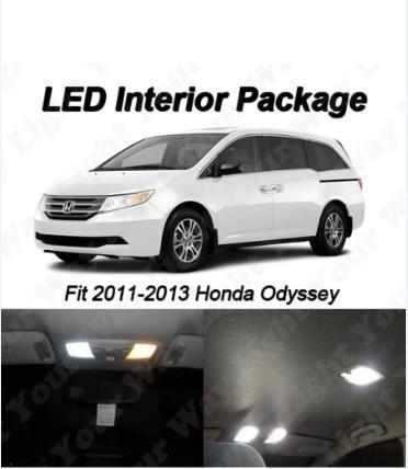 kit de leds para interior honda odyssey 2011-2015