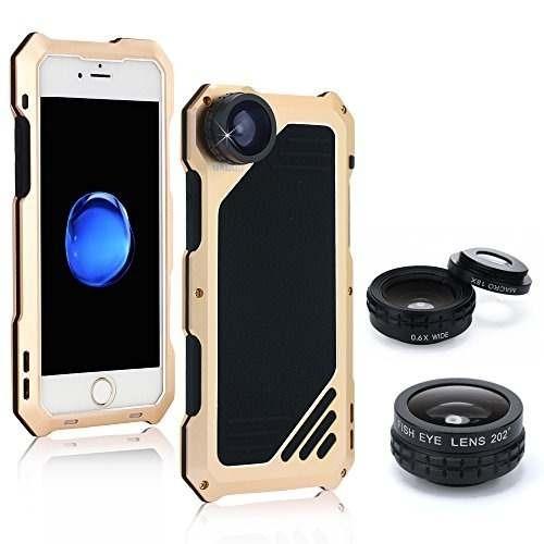 acec51fa911 Kit De Lentes De Cámara Para iPhone 7, Oxoqo 3 En 1 Lente Oj ...