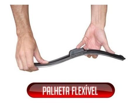 kit de limpador dianteiro silicone hyundai hb20  24pol/16pol