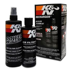 Kit De Limpeza Filtro De Ar Esportivo K&n - 99-5050
