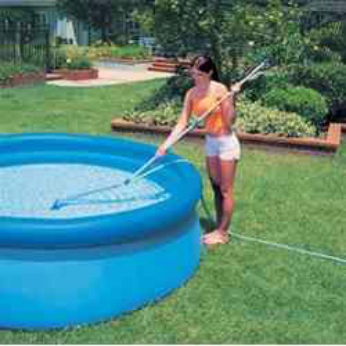 Kit de limpeza manuten o piscina intex aspirador for Intex piscinas