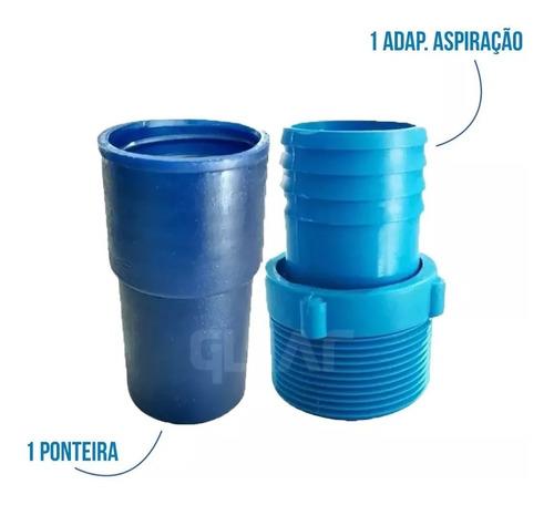 kit de limpeza para piscinas de alvenaria e vinil aspirador