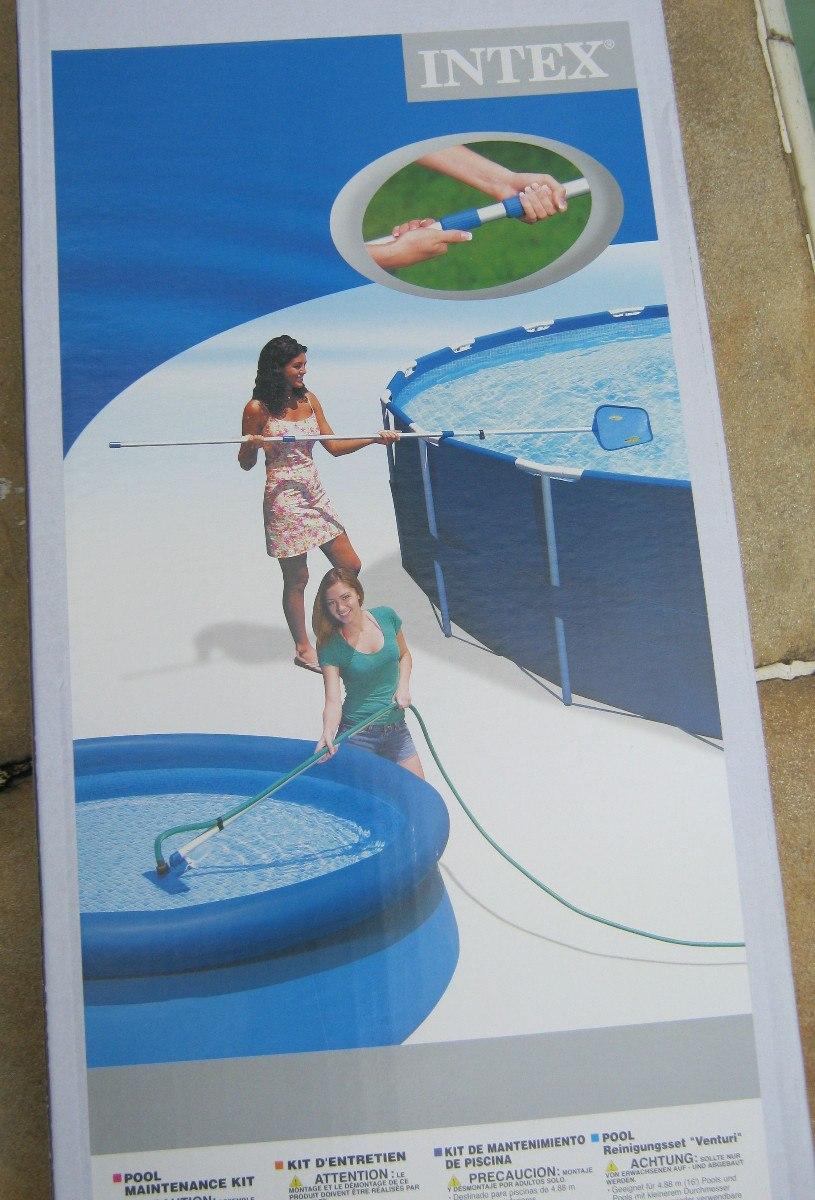 Kit de limpeza piscina cabo peneira aspirador for Aspirador piscina