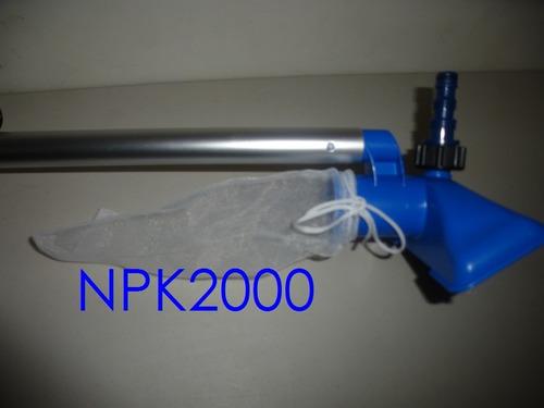 kit de limpieza basico para alberca intex - tubo telescopico