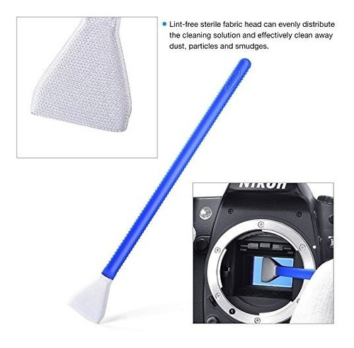 kit de limpieza de cámara profesional tycka tk