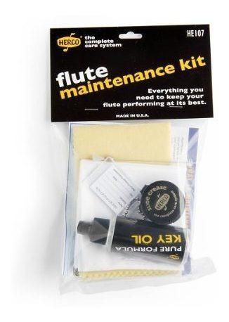 kit de limpieza flauta traversa herco he107