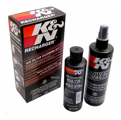 kit de limpieza k&n para filtros de alto flujo auto gcp