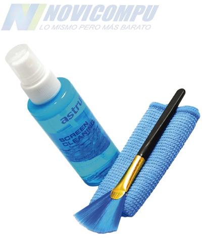kit de limpieza lcd, laptop, celular, marca one