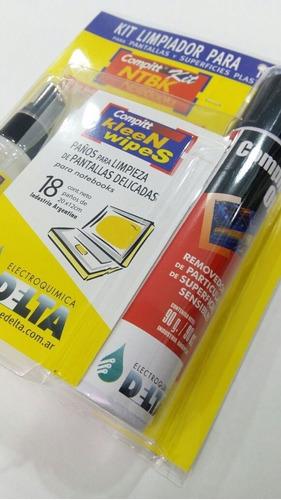 kit de limpieza ntbk compitt para notebook