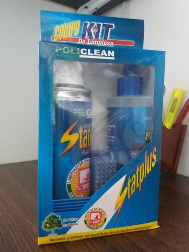 kit de limpieza pantallas, pcs,celular,portatil, tv statplus