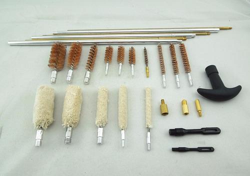 kit de limpieza para rifle, pistola,escopeta.. 78 accesorios