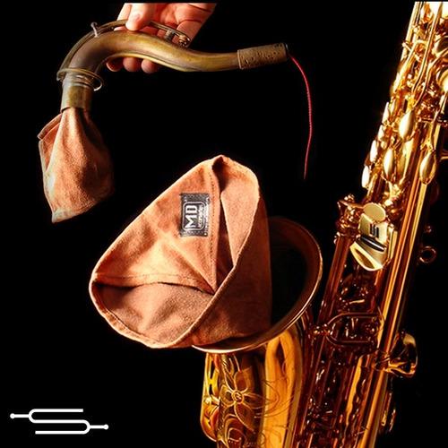 kit de limpieza para saxo tenor md - cuerpo tudel boquila