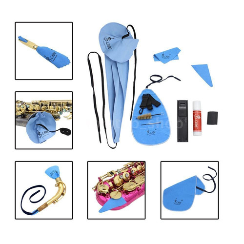 kit de limpieza para saxofón - sonidos porteños