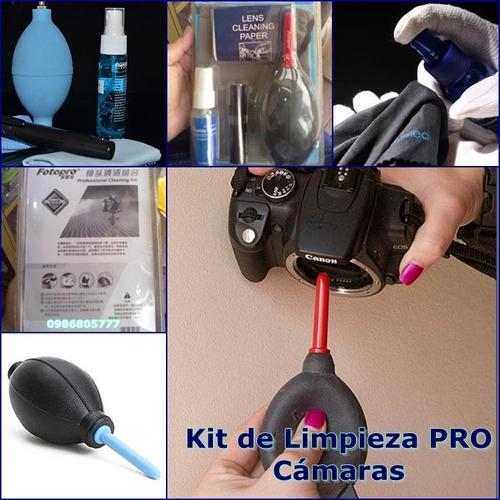 kit de limpieza pro para cámaras
