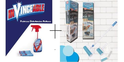 kit de limpieza (rodillo y quita manchas)