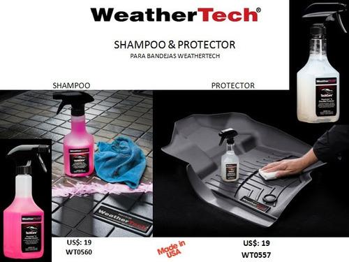kit de limpieza y proteccion para alfombras weathertech