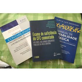 Kit De Livros De Contabilidade