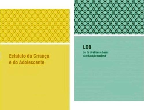 kit de livros eca, ldb e constituição federal atualizados