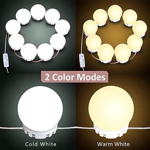 kit de luces de espejo de tocador luces de espejo de maquill