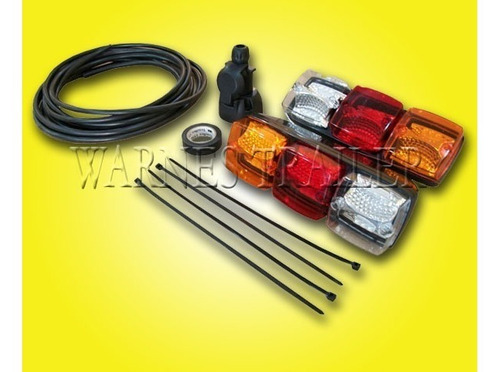 kit de luces led completo para trailer envio gratis