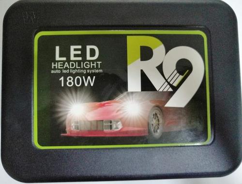 kit de luces led de 180w 15000lm h4, h7, h3, h1, h11
